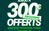 Offre de bienvenue turf de PMU : 25% de vos paris remboursés sur 2 mois dans une limite de 300€