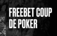 Pariez sur le marché « Coup de Poker » chaque vendredi sur PokerStars : gagnez 5€ de freebet pour 10€ misés