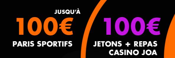 200 euros offerts sur JOA sans code promo