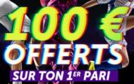Code bonus Vbet : 100€ de paris gratuits offerts si vous ouvrez un compte